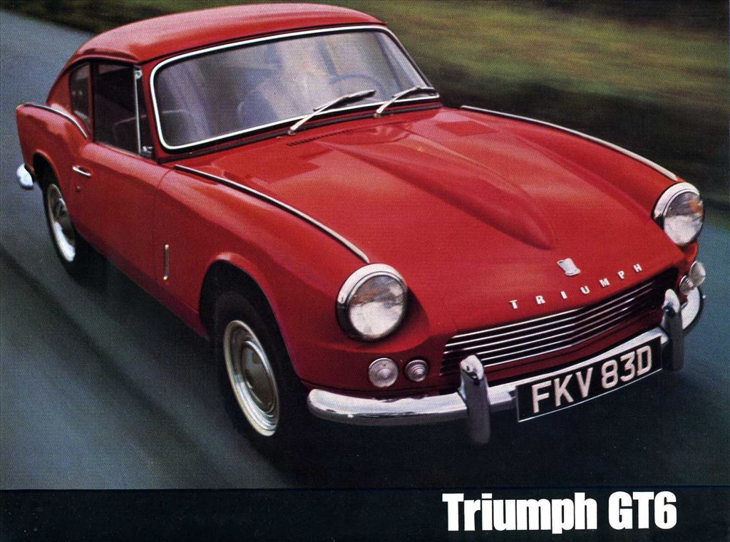 Six appeal: Triumph GT6, born under the sign of Venus