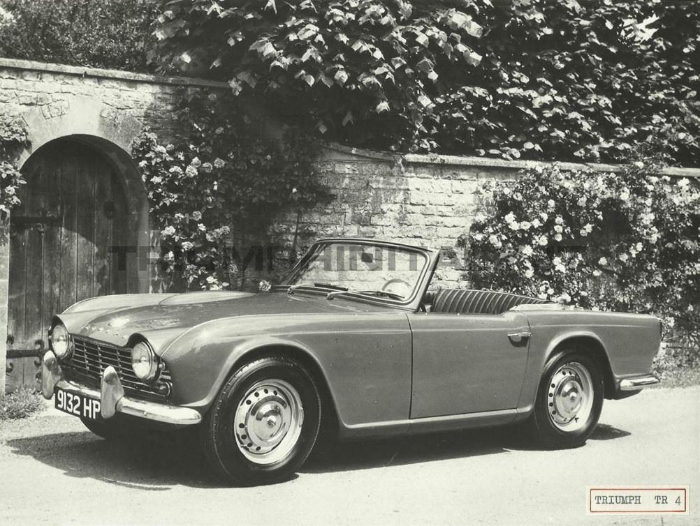 Grandfather's Ax: The Many Evolutions of the Triumph TR4, Part 1: TR4 and TR4A
