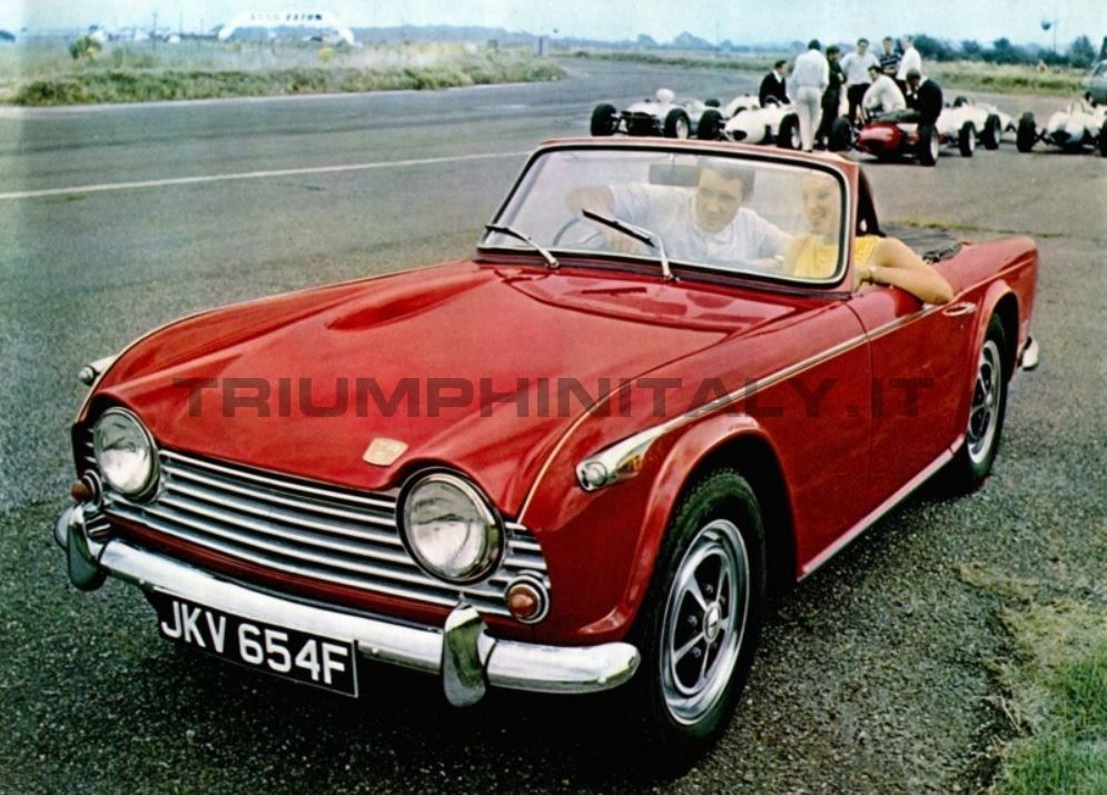 Grandfather's Ax: The Many Evolutions of the Triumph TR4, Part 2: TR5, TR250, and TR6