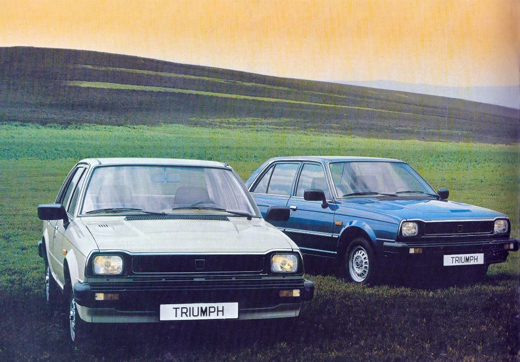 Triumph Acclaim. Anglo-Japanese saloon was a hit, and a sad end too