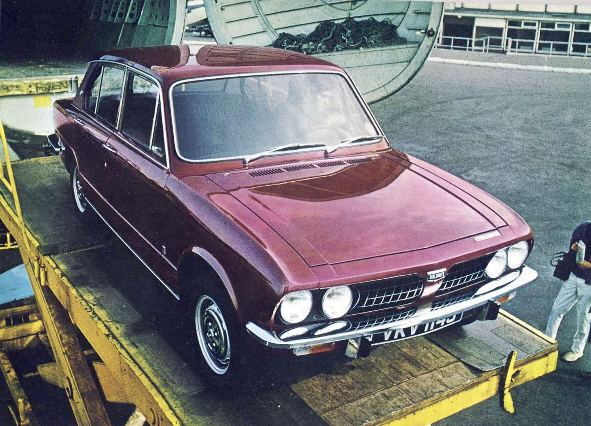 Triumph Dolomite, the winner that never was
