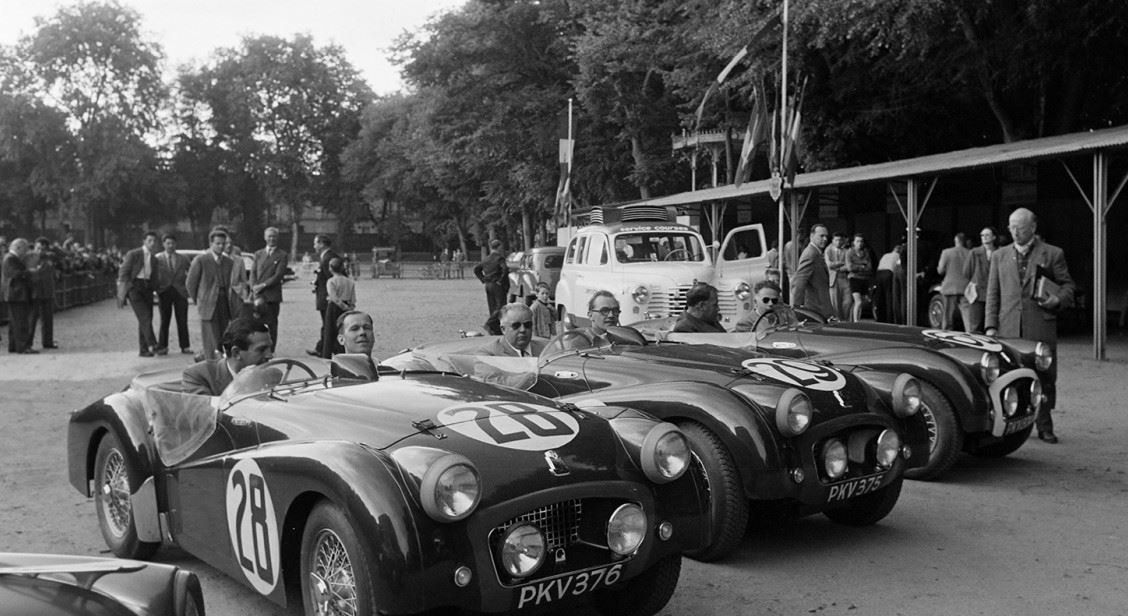 1955, Triumph at Le Mans