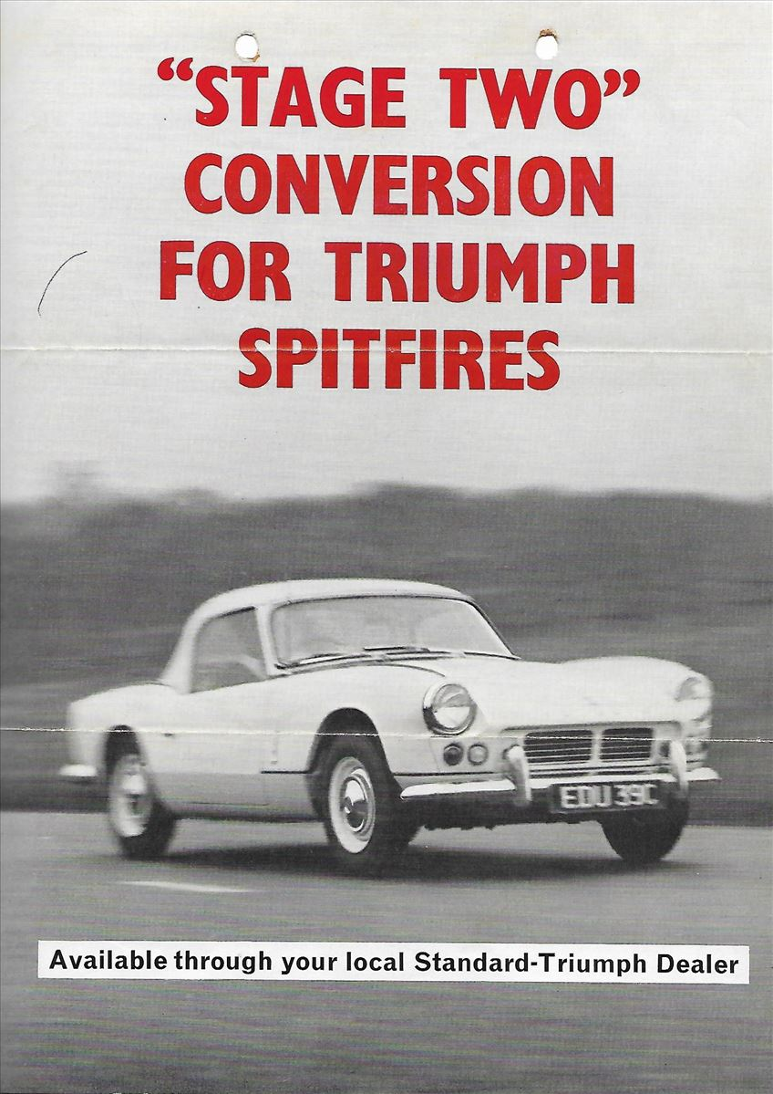 """Stage two"" conversion for Triumph Spitfire"