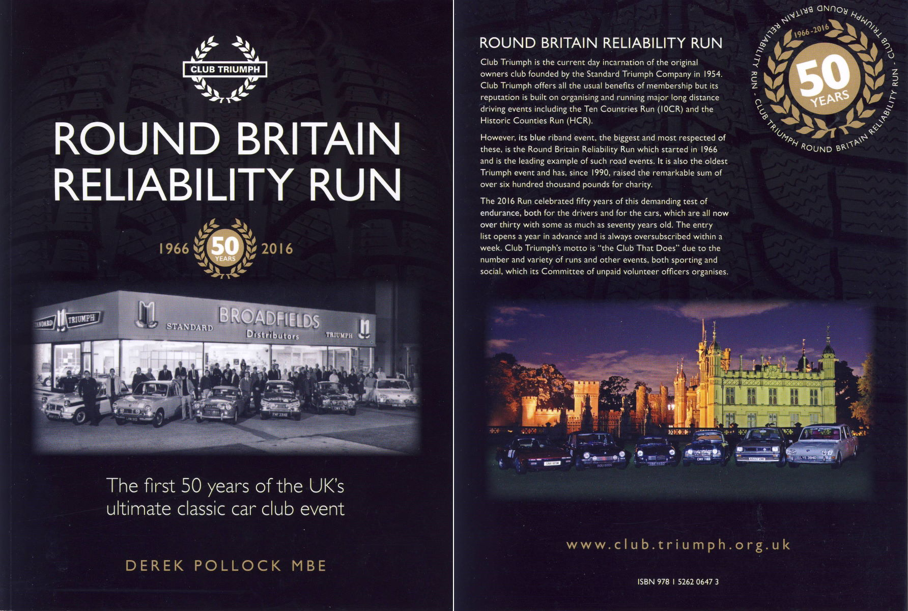 Round Britain Reliability Run. The first 50 years of the UK